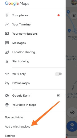Google Maps Par Apna Location Kaise Dale, Google Map पर अपने घर या दुकान का Address डालना सीखे, How to Add Places to Google Map Simple and easy Steps with Image